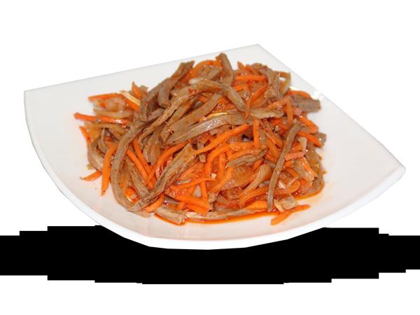 Салаты из мяса с корейской морковью рецепты с